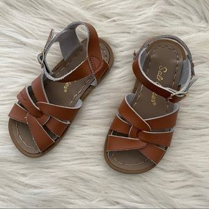 Saltwater Leather Sandals - Size 9 Toddler